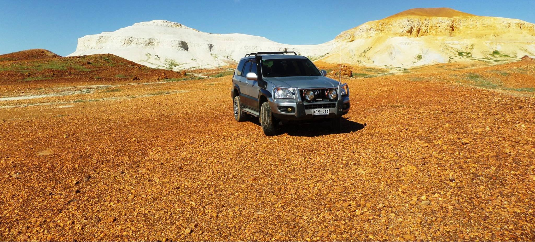 Australian Outback – Dirt stretched on for Miles!
